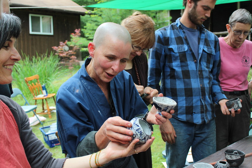 Zen teacher leads pottery retreat